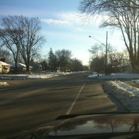 Photo taken at 57th Ave N and DuPont by Frosty F. on 12/25/2012