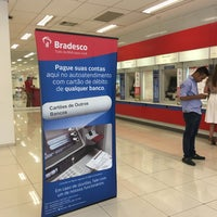 Photo taken at Bradesco by Lurdinha A. on 3/9/2016