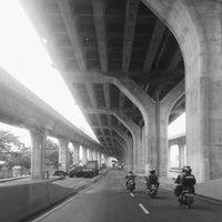 Photo taken at Jalan Tol Ir. Wiyoto Wiyono, M.Sc. by Reza P. on 8/12/2016