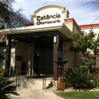 Photo taken at Estancia Churrascaria Brazilian Steakhouse by Renato M. on 1/24/2013