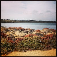 Photo taken at Fiesta Island by laura on 7/14/2013