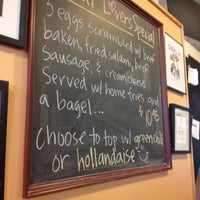 Photo taken at The Bagel Deli by Michael L. on 10/2/2012