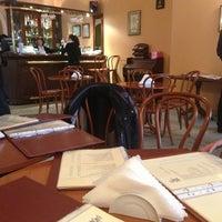 Снимок сделан в Віденська кав'ярня / Vienna Cafe пользователем Polina S. 2/20/2013