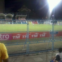 Photo taken at Stadium Sultan Ismail Nasiruddin Shah by Dauz G. on 7/2/2013