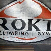 Photo taken at Rokt by Kat B. on 4/15/2014
