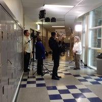 Photo taken at Claggett Creek Middle School by Marissa W. on 10/17/2013