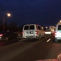 Photo taken at I-95 -- Westport by Dave N. on 12/17/2014