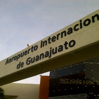 Photo taken at Aeropuerto Internacional de Guanajuato (BJX) by Fidel C. on 2/15/2013