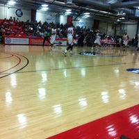 Photo taken at Memorial Hall Gym by Tyler B. on 2/16/2013