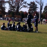 Photo taken at Mike Rose Soccer Complex by Keisha R. on 11/10/2012