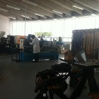 Photo taken at Laboratorio De Manufactura UPQ by Ivan S. on 6/14/2013