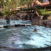 Photo taken at Melia Purosani Swimming Pool by Didik N. on 4/26/2013