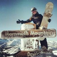 Photo taken at Mammoth Mountain Ski Resort by Anna K. on 12/25/2012