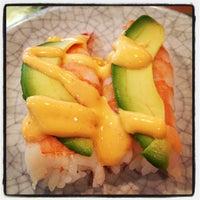 Photo taken at Kura Sushi by Cara on 1/17/2013