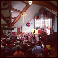 Photo taken at Wellesley Hills Church by Kelley W. on 12/25/2012