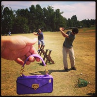 Photo taken at Charlotte Golf Links by Kelley W. on 9/16/2013