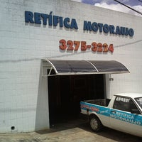 Photo taken at Retífica Motoraujo by Eduardo N. on 1/22/2013