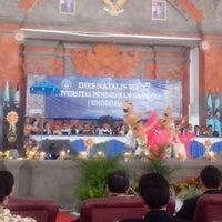 Photo taken at Auditorium UNDIKSHA by pasek n. on 5/11/2013