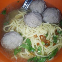 Photo taken at Bakso Awang Long by Ovita J. on 8/31/2013