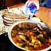 Photo taken at Stephano's Greek & Mediterranean Grill by David R. on 10/29/2012