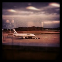 Photo taken at Athens International Airport Eleftherios Venizelos (ATH) by Petros S. on 10/28/2012