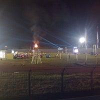 Photo taken at Stadion Maesa Tondano by Henryriddel R. on 11/20/2013
