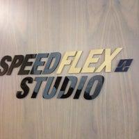 Photo taken at Speedflex Fitness Center #SpeedflexDubaiJBR #JAOceanViewHotel by Bruna D. on 8/23/2014