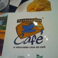 Photo taken at Armazém do Café by Bruna C. on 5/21/2013