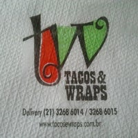 Photo taken at Tacos & Wraps by Bruna C. on 6/13/2013