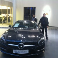 Photo taken at Mercedes-Benz Niederlassung München by Arsen U. on 11/5/2012