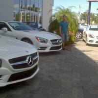 Photo taken at Mercedes-Benz of Tampa by Adrian O. on 11/23/2013