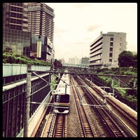 Photo taken at 恵比寿南橋 (アメリカ橋) by PENGUINS P. on 6/8/2013