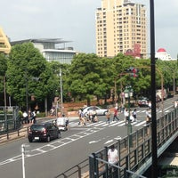 Photo taken at 恵比寿南橋 (アメリカ橋) by PENGUINS P. on 9/7/2013