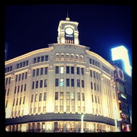 Photo taken at Ginza by PENGUINS P. on 4/13/2013