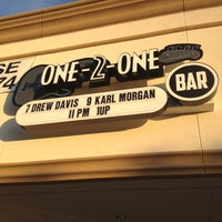 Photo taken at One-2-One Bar by Mike Q. on 10/24/2012