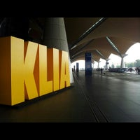 Photo taken at Kuala Lumpur International Airport (KUL) by Ajaq on 6/21/2013