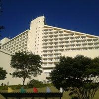 Photo taken at Bourbon Atibaia Convention & Spa Resort by Silvia B. on 9/29/2012
