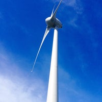 Photo taken at Wellington Wind Turbine by Drannele C. on 10/16/2016