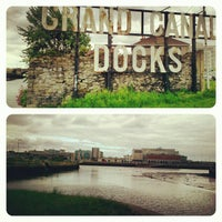 Photo taken at Grand Canal Dock by Vinícius F. on 6/1/2013