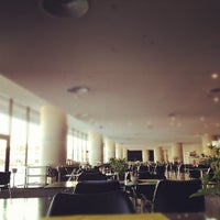 Photo taken at Cafe & Restaurant at Acropolis Museum by Konstantinos P. on 10/19/2012