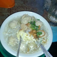 Photo taken at bakso 57 by Hanum F. on 1/20/2013