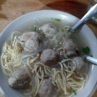 Photo taken at bakso 57 by Hanum F. on 12/29/2012