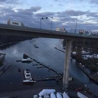 Photo taken at Tvärbanan by Андрей А. on 11/19/2014