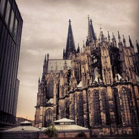 Photo taken at Cologne Cathedral by Daniel E. on 7/22/2013