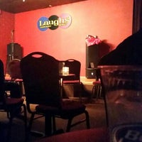 Photo taken at Laughs Comedy Spot by Tiffany R. on 5/22/2014