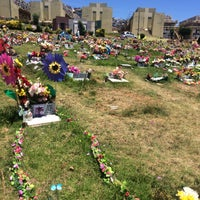 Photo taken at Cementerio de Playa Ancha by Javiera M. on 1/1/2017
