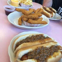 Photo taken at Abe's Hot Dogs by Joshua S. on 6/11/2016