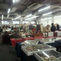 Photo taken at The Garage Antique Flea Market by Melissa S. on 1/27/2013