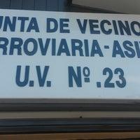 Photo taken at Junta de vecinos UV. N 23 by Rodrigo V. on 3/30/2014
