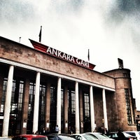 Photo taken at Ankara Station by Ulaş A. on 3/21/2013